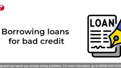Borrowing loans for bad credit